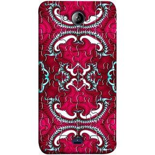 FUSON Designer Back Case Cover for Micromax Unite 3 Q372 :: Micromax Q372 Unite 3 (Best Wallpaper Red Dark Shade Table Design Artwork)