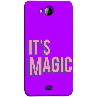 FUSON Designer Back Case Cover for Micromax Unite 3 Q372 :: Micromax Q372 Unite 3 (Lovely Wow Fact Motivational Inspirational Words)
