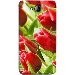 FUSON Designer Back Case Cover for Micromax Unite 3 Q372 :: Micromax Q372 Unite 3 (Close Up Red Roses Chocolate Hearts For Valentines Day)