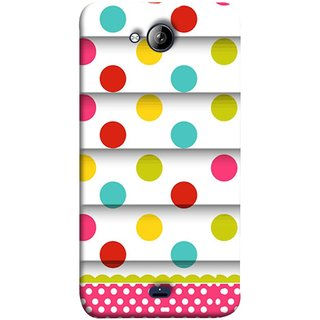 FUSON Designer Back Case Cover for Micromax Unite 3 Q372 :: Micromax Q372 Unite 3 (Loopable Background With Nice Glowing Spectrum)