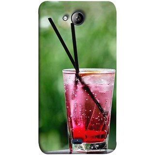 FUSON Designer Back Case Cover for Micromax Unite 3 Q372 :: Micromax Q372 Unite 3 (Glass Full Of Cold Fresh Squeezed Watermelon Juice)
