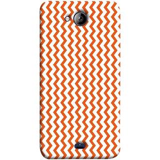 FUSON Designer Back Case Cover for Micromax Unite 3 Q372 :: Micromax Q372 Unite 3 (Red Glittering Foil Seamless Pattern Background)