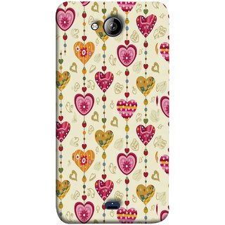 FUSON Designer Back Case Cover for Micromax Unite 3 Q372 :: Micromax Q372 Unite 3 (Valentine Pink Metallic Cool Peace Sign Symbol Pillow)
