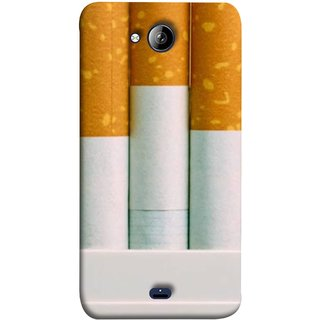 FUSON Designer Back Case Cover for Micromax Unite 3 Q372 :: Micromax Q372 Unite 3 (Pack Of Cigarettes With Cigarettes Sticking Out )