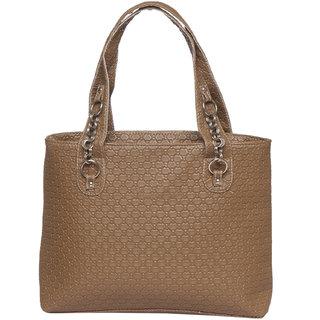 Brown Color Elegant Trendy Handbag Shoulder Bag Purse For Girls Women