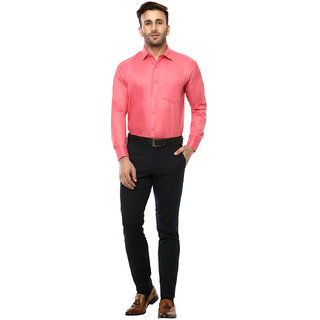 75972a2b1a3 Buy Hangup Solid Formal Shirt For Mens Online - Get 73% Off