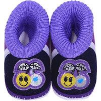 Child Life Purple Cotton  Shoes