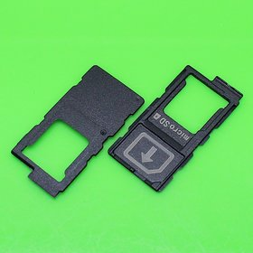 Sim Card Slot Sim Tray Holder Replacement Part for Sony Xperia Z3(GREEN)