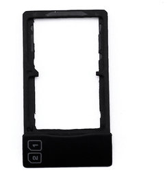 Sim Card Slot Sim Tray Holder Replacement Part for 1+2 (SANDSTONE BLACK)