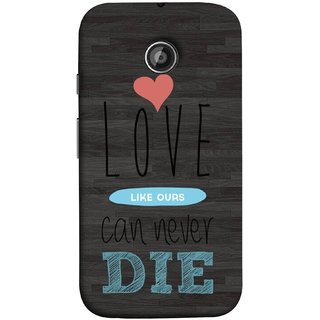 FUSON Designer Back Case Cover for Motorola Moto E ::  Motorola Moto E XT1021 :: Motorola Moto E Dual SIM :: Motorola Moto E Dual SIM XT1022 :: Motorola Moto E Dual TV XT1025 (Hearts Feeling Loved With Each Other Valentine Day)