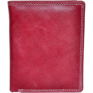 Chandair Pure Leather Maroon Mens Wallet (WL-NW-021)