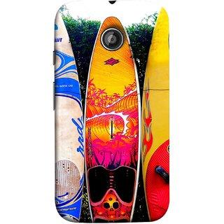 FUSON Designer Back Case Cover for Motorola Moto E ::  Motorola Moto E XT1021 :: Motorola Moto E Dual SIM :: Motorola Moto E Dual SIM XT1022 :: Motorola Moto E Dual TV XT1025 (In Garden Standing Nice Design Ocean Games )