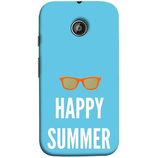 FUSON Designer Back Case Cover for Motorola Moto E ::  Motorola Moto E XT1021 :: Motorola Moto E Dual SIM :: Motorola Moto E Dual SIM XT1022 :: Motorola Moto E Dual TV XT1025 (Beautiful Beach Sun Girls Yellow  Sunshine)