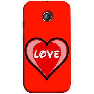 FUSON Designer Back Case Cover for Motorola Moto E ::  Motorola Moto E XT1021 :: Motorola Moto E Dual SIM :: Motorola Moto E Dual SIM XT1022 :: Motorola Moto E Dual TV XT1025 (Pink Red Wallpapers Flowers Lovers Boyfriends )