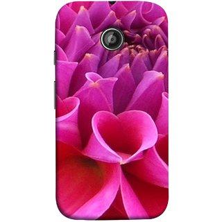FUSON Designer Back Case Cover for Motorola Moto E2 :: Motorola Moto E Dual SIM (2nd Gen) :: Motorola Moto E 2nd Gen 3G XT1506 :: Motorola Moto E 2nd Gen 4G XT1521 (Floral Patterns Shining Dark Red Florals Design Patterns)