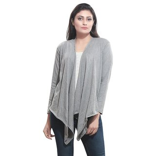 244ae7c534d Buy Bfly Women s Viscose Shrug (Grey) Online - Get 50% Off