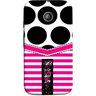 FUSON Designer Back Case Cover for Motorola Moto E ::  Motorola Moto E XT1021 :: Motorola Moto E Dual SIM :: Motorola Moto E Dual SIM XT1022 :: Motorola Moto E Dual TV XT1025 (Beautiful Cute Nice Couples Pink Design Paper Girly I)
