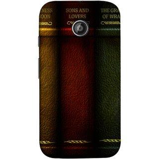 FUSON Designer Back Case Cover for Motorola Moto E2 :: Motorola Moto E Dual SIM (2nd Gen) :: Motorola Moto E 2nd Gen 3G XT1506 :: Motorola Moto E 2nd Gen 4G XT1521 (Grapes Of Wrath Sons And Lovers Arthur Koestler)