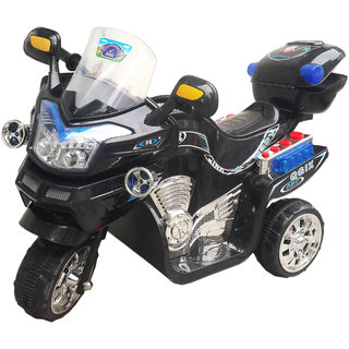 Oh Baby, Baby Battery Operated Bike Blue Color With Musical Sound And Back Basket For Your Kids SE-BOB-06