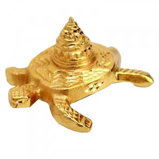 Kashyap Meru Shree Yantra Brass Kachua Shree Yantra