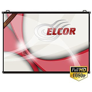 ELCOR Map Type screens 5ft x 7ft with 100 Diagonal In HD, 3D  4K Technology
