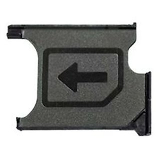 Sim Card Slot Sim Tray Holder Replacement Part for Sony Xperia Z1(PURPLE)