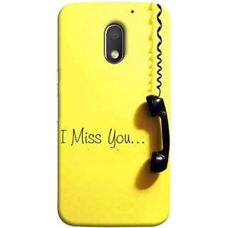 FUSON Designer Back Case Cover for Motorola Moto E3 :: Motorola Moto E (3rd Gen) (Always I Love You Red Hearts Couples Together Valentine)