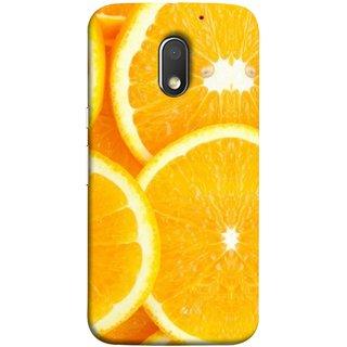 FUSON Designer Back Case Cover for Motorola Moto E3 :: Motorola Moto E (3rd Gen) (Lemon Agriculture Background Bud Candy Cell)