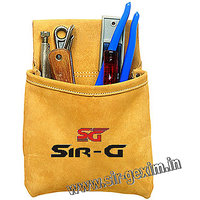 1, Big Pocket Leather Tool Bag Pouch