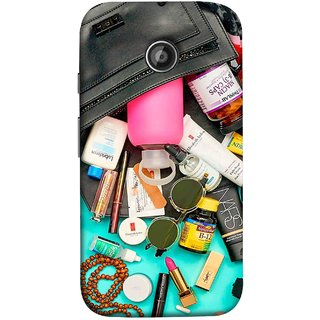 FUSON Designer Back Case Cover for Motorola Moto E2 :: Motorola Moto E Dual SIM (2nd Gen) :: Motorola Moto E 2nd Gen 3G XT1506 :: Motorola Moto E 2nd Gen 4G XT1521 (Basic Wardrobe Closet Essentials And Basic Creams)