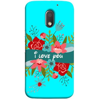 FUSON Designer Back Case Cover for Motorola Moto E3 :: Motorola Moto E (3rd Gen) (Pink Red Wallpapers Flowers Lovers Boyfriends )