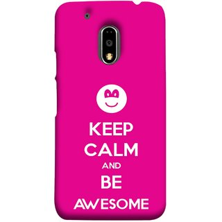FUSON Designer Back Case Cover for Moto E3 Power :: Motorola Moto E3 Power (Beautiful Hearts Always Stay Silent & Be Goodto Others)