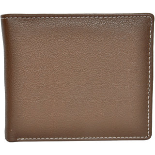 Chandair Pure Leather Wood Brown Mens Wallet (WL-NW-010)