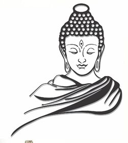 wall dreams Peaceful Buddha Religious  Inspirational Religious  Inspirational PVC  Sticker