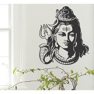wall dreams Lord Shiva ji Religious  Inspirational Religious  Inspirational PVC  Sticker