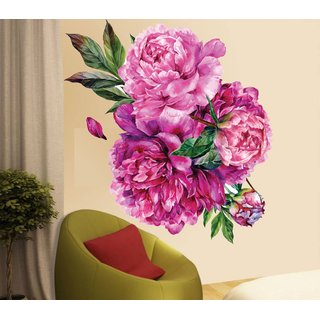 wall dreams Bunch of flowers Nature Nature PVC  Sticker