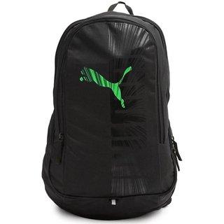 Puma Graphic Black-Green Backpack