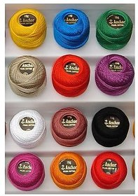 Vardhman  Anchor Mercer Crochet Ball Roll
