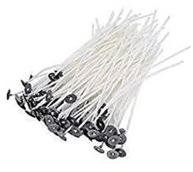 Candle Making Wigs (Threads) Wax Coated , 5 Inches Length , Set Of 100 Pcs