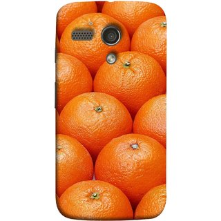 FUSON Designer Back Case Cover for Motorola Moto G :: Motorola Moto G (1st Gen) :: Motorola Moto G Dual (Countryside Scent Of Orange Blossoms Citrun )