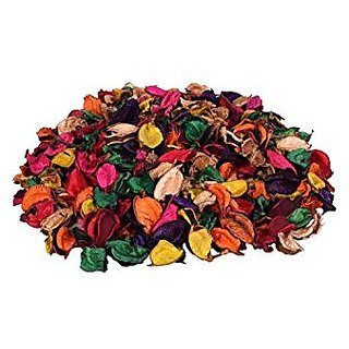 Perfumed Potpourri Multicolored 150 Gms, 100 Natural, Approx 500 Natural Leaves Assorted