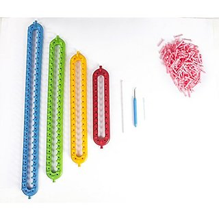 Pony Knitting Loom Straight can make scarfs, hats, socks,and others