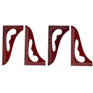 TAILORS ART CURVE , 1/4  1/6 SCALE, SET OF 4 PCS