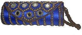 SSHS Hand Crafted mirror work handbag