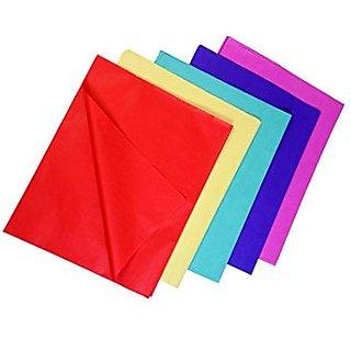 VARDHMAN Kite Paper  Size 65 X 40 cm 5 Colors 120 Sheets