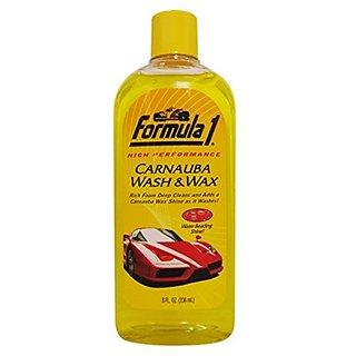 Formula 1 Carnauba Wash and Wax Shampoo  USA Original