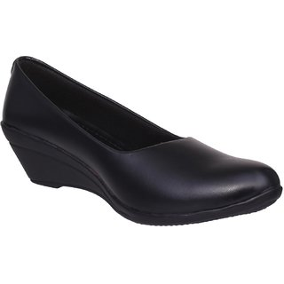 1 WALK COMFORTABLE  WOMEN-BELLY /FANCY WEAR/PARTY WEAR/ORIGINAL/CASUAL FOOTWEAR-XX-MP-BY100A-@Black