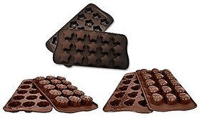 Silicon Chocolate Mold Set Of 3