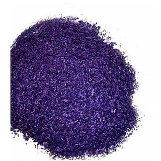 Rangoli color ( saw dust ) premium quality with shining crystals PURPLE ,total 450 gm, 45 gm each 10 pkt