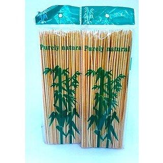 Starter Long Wooden Sticks 8  Lenght, 200 Pcs
